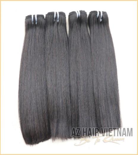 Weave Hair Bone Straight In Natural Color Human Hair Vietnam