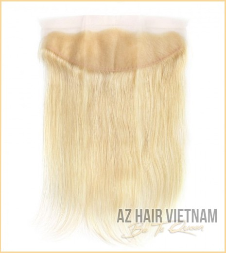 Lace Frontal 13×4 Straight Blonde Color Human Hair Vietnam