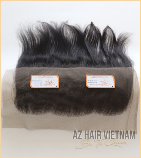 Lace Frontal 13×4 Straight Hair Black Color Hair Vietnam