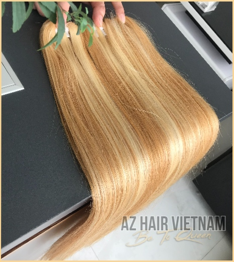 Weave Hair Straight Highlight Color Mix  Human Hair Vietnam